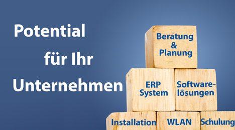 BEratung, Planung, ERP Sytsem und Software Lösungen