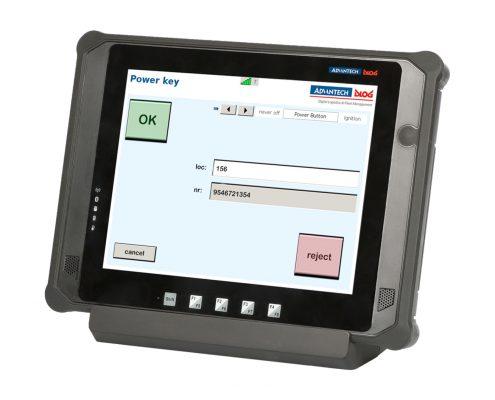 Staplerterminal Advantech DLoG DLT-M8110