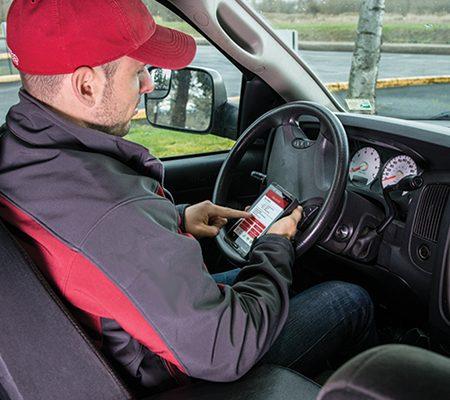 Mobile Datenerfassung im Außendienst mit dem Datalogic Axist