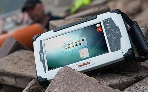 Industrietablet Handheld Algiz 7