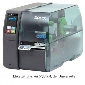 Barcode Etikettendrucker cac Squix4