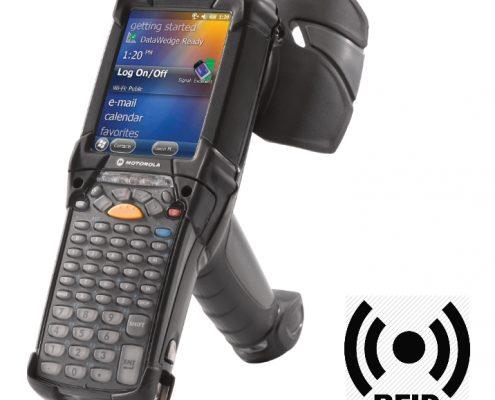 RFID Datenerfassung mit Zebra MC9190 Z