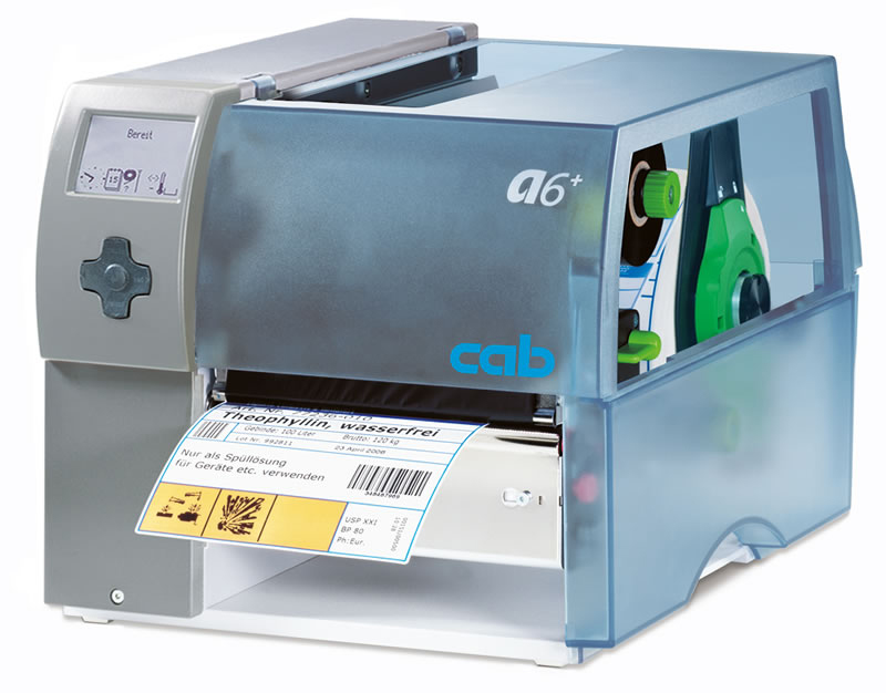 cab A6plus Barcodedrucker