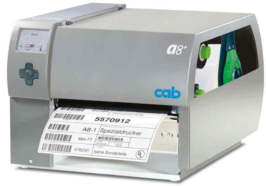 cab A8plus Barcodedrucker