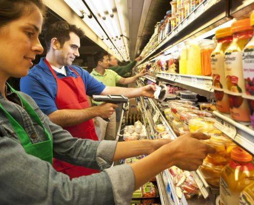 Intermec CK3R or CK3X im Retail Bereich