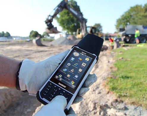 Handheld Nautiz X8 -Raue Arbeitsbedingungen
