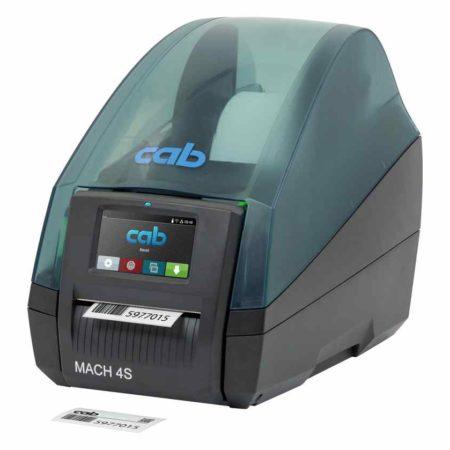 Kompakter Industriedrucker von cab