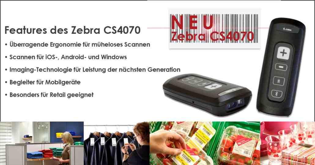 Barcode Scanner im Taschenformat