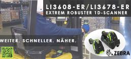 Zebra 3600-Serie Barcodescanner
