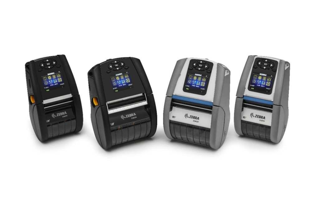 Mobile Etikettendrucker, Zebra ZQ600-Serie