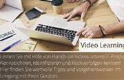 Video Tutorial Center für Barcodeprodukte