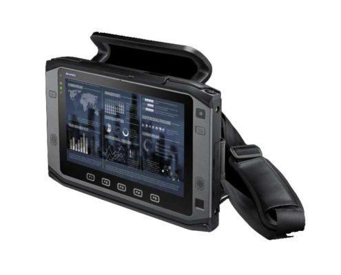DLOG Tablet PC - PWS-872 Seitenansicht