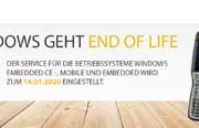 End-of-Life von Windows