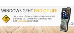 End-of-Life von Windows