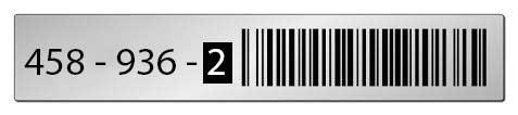 Reflektierende-Etiketten