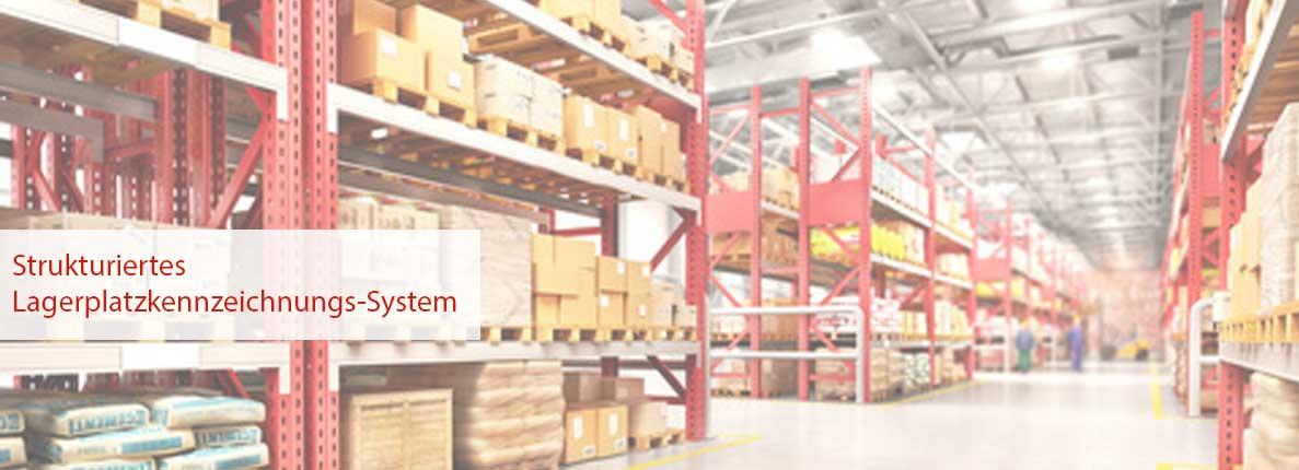 Strukturiertes-Lagerplatzkennzeichnungs-System