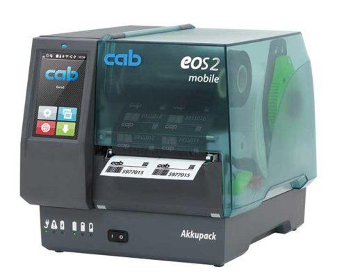 Barcode Etikettendrucker cab EOS2 mobile