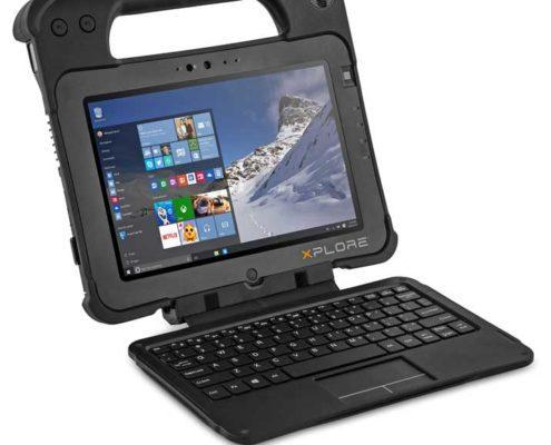 Xplore XPAD L10 mit Tastatur