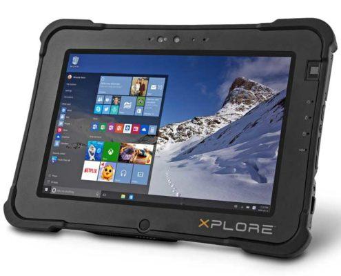 Xplore XSLATE L10 mit Windowsbetriebssystem