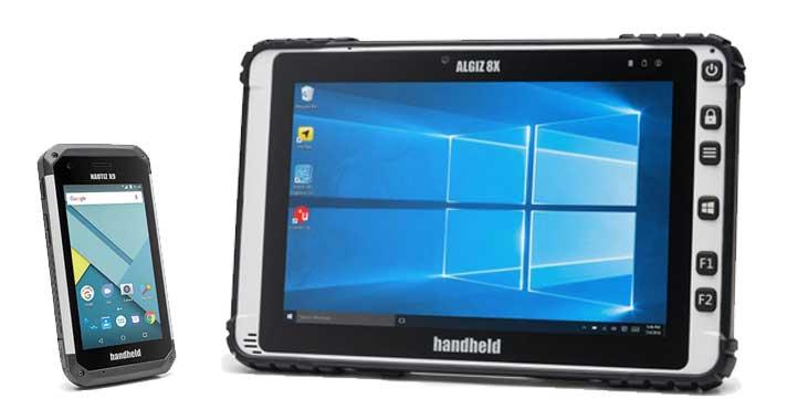 HandHeld - Algiz 8X und Nautiz X9