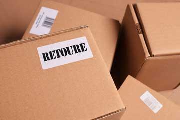 Retoure-von-Paketen