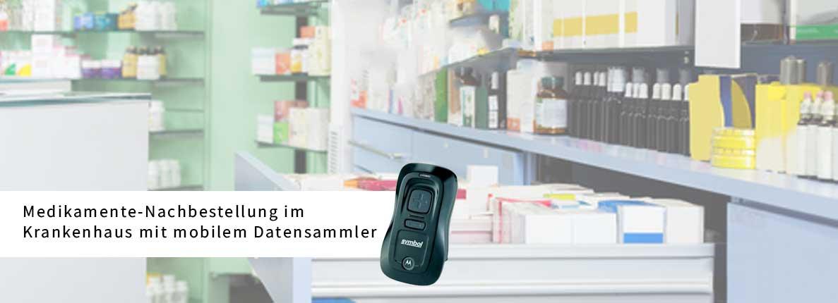 Medikamente-Nachbestellung-im-Krankenhaus-mit-mobilem-Datensammler