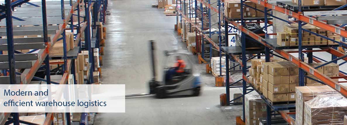 Modern and efficient warehouse logistics