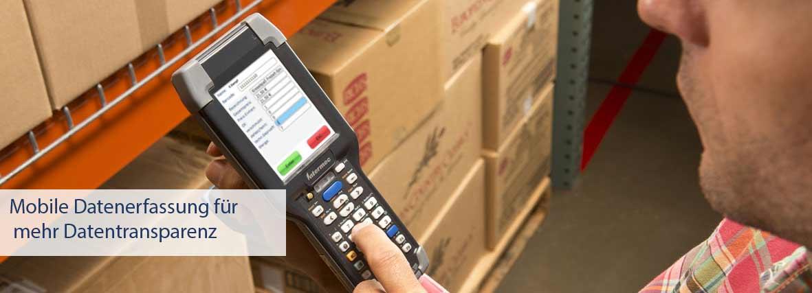 Mobile Datenerfassung im Unternehmen