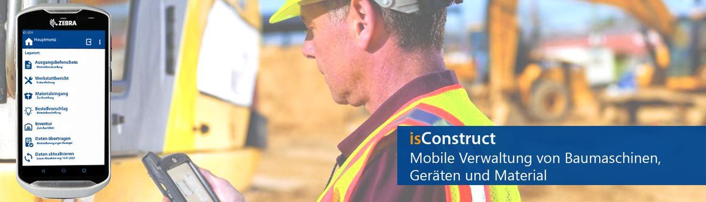 Mobile Datenerfassung auf der Baustelle und im Baulager