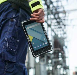 Handheld Industrie-Tablet Algiz RT8