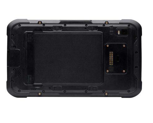 Handheld Industrie-Tablet Algiz RT8-Rückseite
