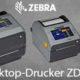Desktop Etikettendrucker Zebra ZD621