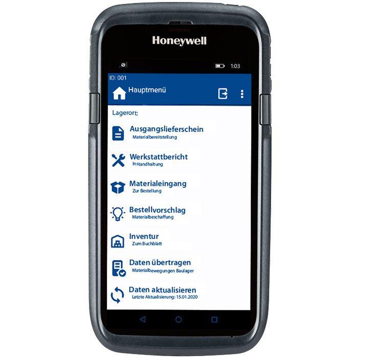 Mobilcomputer Honeywell CT50