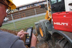 Mobile Datenerfassung auf der Baustelle