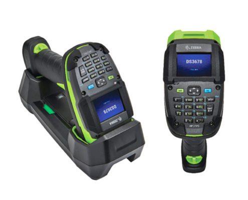 Zebra Barcodescanner DS3600-KD mit Display und Tasten