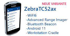 Mobilcomputer Zebra TC52ax